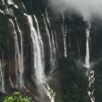 Nohkalikai Falls at their best
