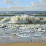 Zee schlderij van Ron Meilof