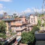 Вид с крыши отлеля (ресторан)