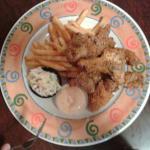 Cajun Catfish Dinner