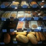 Breads and baked goods from La Madeleine French Country Cafe