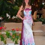 En el lobby durante Miss World