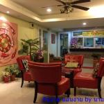 Compact, Colourfull & Charming Lobby