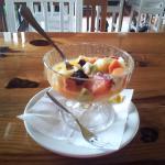 Postre (frutas variadas)
