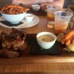 A day of eating at Sandstone Point Hotel!