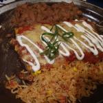 Enchiladas and CaronaRitas can't go wrong.