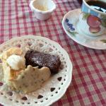 Dessert at Talking Teacup