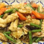 Squid with Garlic and Pepper