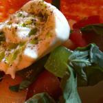 Burrata & tomatoes