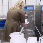 Making Lemon Gelato