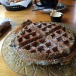 Blueberry waffle =Heaven!