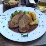 Excellent Roast Pork dinner.