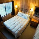 2 Bedroom Cabin typical queen bedroom