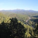 View of Sierra Blanca and Ruidoso from Crown Point Condos