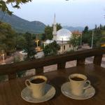 Turkish coffee with en excellent view!