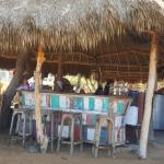 rustic beach bar - great!
