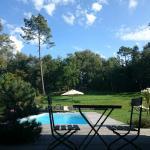 Accès direct jardin chambre Sherwood