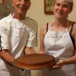 Джерардо и Наташа приготовили лимонный пирог