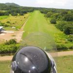 Gyrocopterlandeanflug