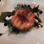 Peach Salad-Albany Bistro