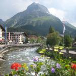 View from Main St bridge in Lech