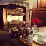 Afternoon Tea by the fire