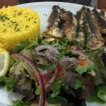 Gambas et sardines