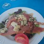 Salade jambon parmesan ENTREE