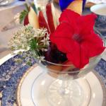 The 7 Course edible flower and herb breakfast was the highlight of my Labor Day respite from the