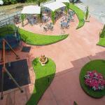 Terraza y área recreativa