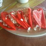 Red tacos