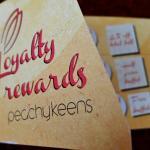 Loyalty reward card