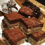 A selection of the delicious treats at Cafe Eighty2