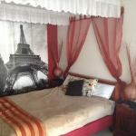 "Our ""Paris By Night' room"