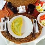 Merthayasa 2 Bungalows : pancake à la banane