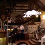 Интерьер Да Винчи ресторан