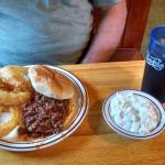 Pan Fried Perch and a Sloppy Joe
