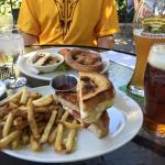 Pretzel and Grilled Cheese
