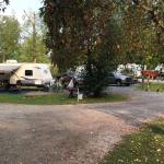 Trailer sites in campgrounds