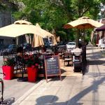 Street patio