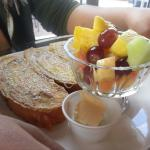 French toast with fruit!