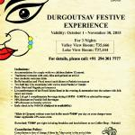 The Durga Pujo Package