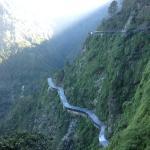 The road to Vaishno Devi
