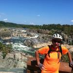 Mark enjoyed a Mtb ride to Great Falls on a Trek 4500D, while Hector rode a Trek Domane 2.0 on t
