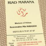 Riad Marana Foto