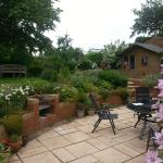 English garden for breakfeast