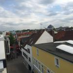 Balcony view from Altera Hotel in Oldenburg