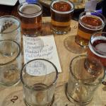 Flight of 8 beers