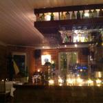 Nice interior and bar
