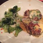 Salad, main courses, & dessert